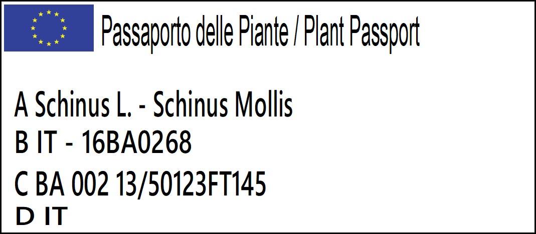 Passaporto delle Piante Europeo